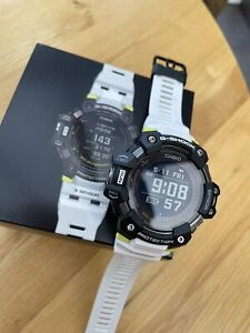 G-SHOCK HEART RATE MONITOR (GBD-H1000-1A7ER) GPS SPORTS FITNESS SMARTWATCH