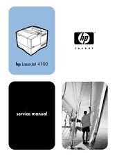 HP LaserJet 4100 Series Service Manual(Parts & Diagrams)