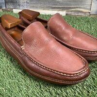 UK9 Timberland Smart Comfort System Driving Shoes - Tan Loafers - EU43
