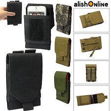 Universal Ejército Táctica Bolsa Teléfono Móvil Funda Lazo De Cinturón GANCHO