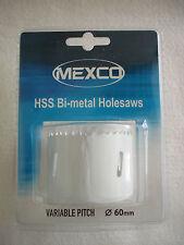 MEXCO HSS Holesaw bi-metal 60mm
