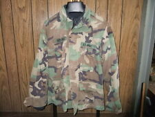 US Army coat camo woodland stitched in Cabelas fleece liner Medium Sevald