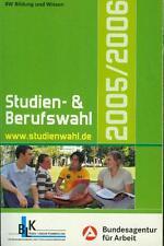 Buch: Studien- und Berufswahl 2005/2006, Informationen und Entscheidungshilfen