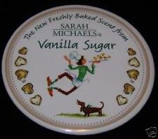 SARAH MICHAELS Vanilla Sugar Badge Pin Button Pinback