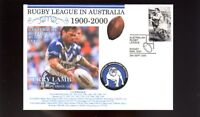 CANTERBURY BULLDOGS 1900-2000 RUGBY COVER, TERRY LAMB