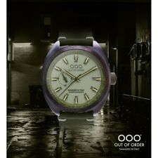 NEW OOO(OUT OF ORDER WATCH) Torpedine Green Limited Automatic Damaged In Italy