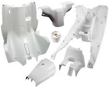 Habitáculo Cubierta 6 Piezas Protector de Pierna Blanco Mate para Yamaha Aerox