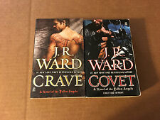 2  J R WARD BOOKS IN THE FALLEN ANGELS SERIES paperback