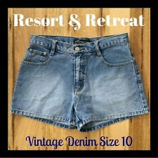 Denim Shorts, High Waisted, Preloved, Size 10, Great Condition