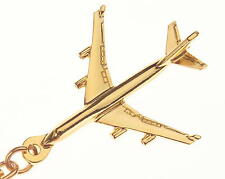Boeing 747-400 Key Ring with Gold Plated finish