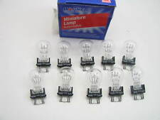 (10) Wagner 3457 Miniature Light Bulb - Double Contact Wedge GT-8