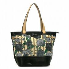 b9417af98df GUESS Azura Black Floral Black Rose Print Tote Black Handbag Ca343523