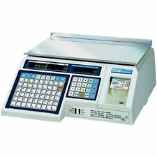 CAS LP-1000N Barcode Label Printing Scale **Full Year Guarantee**
