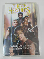 EL JOVEN HERCULES CINTA TAPE VHS COLECCIONISTA PROMOCIONAL!!! NEW NUEVA