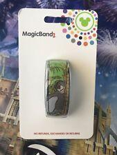 NEW Disney Parks Baloo Mowgli Bagheera Jungle Book Green MagicBand Magic Band 2