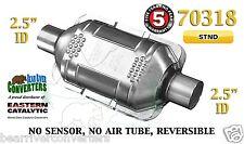 "70318 Eastern Universal Catalytic Converter Standard 2.5"" 2 1/2"" Pipe 10"" Body"
