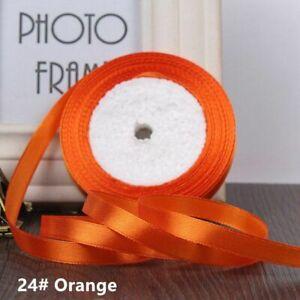 """25 Yards 1/2"""" satin ribbon silk ribbons wedding party gift wrapping christmas"""