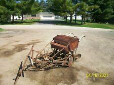 John Deere Van Brunt 5 Disc Seeder No Reserve Antique Tractor farmall alllis a b