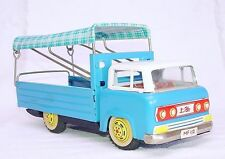 MF-112 China HINO COTTON ROOF OPEN DELIVERY TRUCK Tin Friction Car 22cm NM`60!