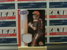 Carte collezionabili football americano singoli cleveland browns