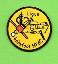 Pin's lapel pins pin Ligne BABYFOOT NpdC STELLA  logo cœur de la région 59/62