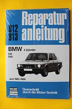 BMW 5er E28 518 518i 4Zyl.  Reparaturanleitung Handbuch