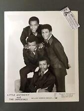 Original 1950s-60s 8 x 10 Publicity Photo Vocal Group Doo Wop R&R Little Anthony