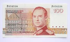 More details for luxembourg 100 francs 1986-93 unc p-58