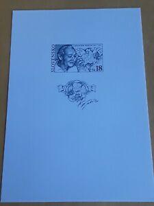 Stamps Slovakia 2002, MNH Black Print