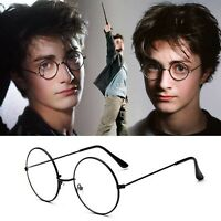 Fashion Man And Women Round Cosplay Glasses Frame Spectacles Eyewear