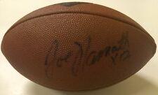 Joe Namath New York Jets Autographed Wilson NFL 75th. Anniver Football JSA LOA