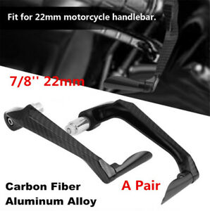 CNC 7/8'' Brake Clutch Lever Handguard Hand Guard For 22mm Motorcycle Handlebar