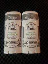 2 pack Earth Mama - Deodorant - Ginger Aid - 3 oz.