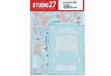 Studio27 DC745C 1:24 Nissan G'ZOX HASEMI Z SUPER GT 2005 Original Decals
