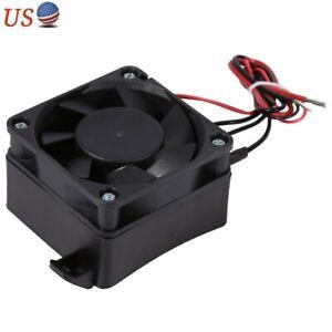 100W Constant Temperature PTC Fan Car Heater Small Space Heating Incubator 12V R