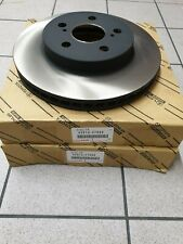 Genuine Toyota/Lexus Front Brake Discs 43512-47060 Original New Pair