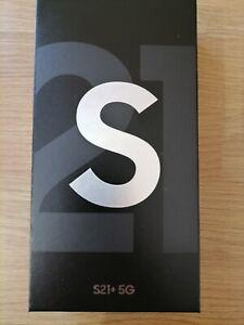 New Sealed Samsung Galaxy S21+ PLUS 5G  - 256GB - Phantom silver (Unlocked) -