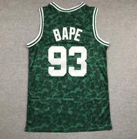 Chaleco deportivo de baloncesto Camo A Bathing APE BAPE Camisetas Camisa sueltas