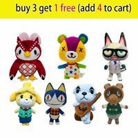 Animal Crossing New Horizons Raymond Plush Toy Stuffed Doll Kids Bedtime Gift