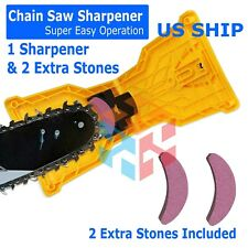 Chain Saw Teeth Sharpener Bar-Mount Professional Woodworking Sharpening Tool Kit