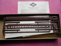 EASTERN CAR WORKS COACH HO GAUGE UNDECORATED NIB