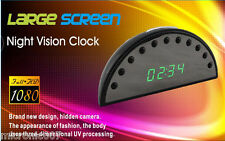 Full HD 1080p Espion Horloge Caméra Vidéo Recorder Motion Detect Night Vision à Distance