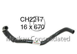 Mackay Connecting Pipe (Heater Hose) CH2217 fits Toyota Camry 3.0 V6 (MCV20R)