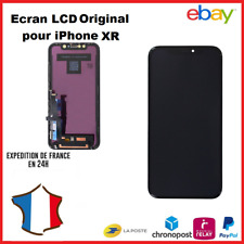 ECRAN LCD IPHONE XR RETINA ORIGINAL VITRE TACTILE SUR CHÂSSIS