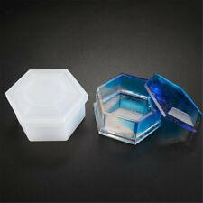 Colgante Puzzel forma desplazamiento Molde de silicona UV Resina Artesanal Coctelera Fabricación de Joyería