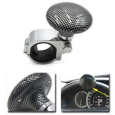 Universal Carbon Fiber Car Steering Wheel Power Handle grip Knob Power ball