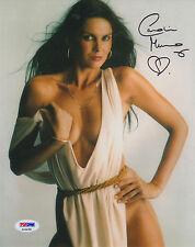 "007 : CAROLINE MUNRO AKA ""NAOMI"" SIGNED SEXY PHOTO PSA"