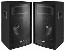 "Vonyx SL10 1000W DJ PA Lautsprecher Party Boxen Paar 10""/25cm Bass Disco Satz"