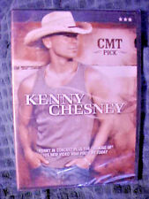 KENNY CHESNEY - CMT Pick (DVD, 2005, Concert + Video: Who You'd Be Today) - NEW