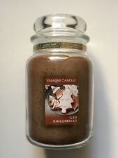 YANKEE CANDLE ICED GINGERBREAD 22 oz. JAR  NEW COOKIE SWAP SCENT